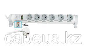 """LEGRAND 694647(695847) Удлинитель, 6 розеток, 16А, с индикатором """"Safe Control"""", фиксируемый, поворотный, шнур 3.0м, серия """"комфорт и безопасность"""""""