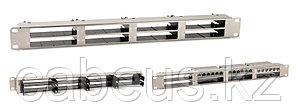"""Hyperline PPTR-19-8CU-STL Патч-панель 19"""" для претерминированных медных и оптических кассет, 8 слотов под"""