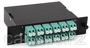 Hyperline FO-CSS-W-503-2MTPM-12DLC Волоконно-оптическая кассета MTP (c направляющими штырьками), 12DLC, 24