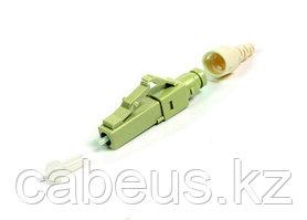 Siemon FC1-LB-LC6-9BG LightBow Коннектор LC simplex с заводской полировкой для полевой заделки, для