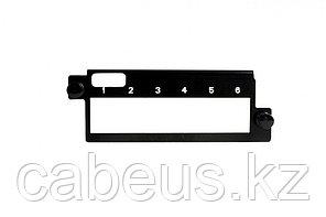 Siemon PPM-SMX6-01 Панель, 6 портов, черная (для PPM-SPNL4-01)
