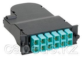PANDUIT FCXO-12-10Y Претерминированная кассета QuickNet™ 50/125 мкм (OM3) 10Gig™, многомодовая, 12 волокон, 6