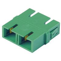 PANDUIT FADSCZAG-L Оптический проходной адаптер SC/APC, SM, duplex, корпус пластиковый, RoHS, центратор из