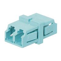 PANDUIT FADSLCAQ-L Оптический проходной адаптер LC, MM 10Gig™ OM3/OM4 , duplex, корпус пластиковый, RoHS,