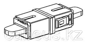 PANDUIT FASSCAQ-L Оптический проходной адаптер SC, MM 10Gig™ OM3/OM4 , simplex, корпус пластиковый, RoHS,