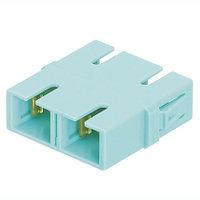 PANDUIT FADSCAQ-L Оптический проходной адаптер SC, MM 10Gig™ OM3/OM4 , duplex, корпус пластиковый, RoHS,