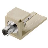 PANDUIT CMSTEI Модуль Mini-Com® многомодовый симплекс SТ адаптер (слоновая кость)
