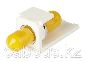 PANDUIT CMSTAW Модуль Mini-Com® многомодовый симплекс SТ адаптер (белый)
