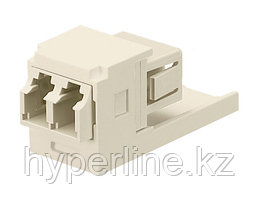 PANDUIT CMDSLCEI Модуль Mini-Com® многомодовый дуплекс LC адаптер (слоновая кость)