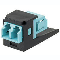 PANDUIT CMDSAQLCBL Модуль Mini-Com® многомодовый дуплекс LC адаптер 10Gig™ (черный)