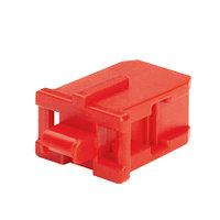 PANDUIT PSL-SCBD-BU Блокирующее устройство для дуплесных адаптеров SC, в комплект входят 10 блоков (цвет синий) и 1 ключ