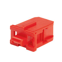 PANDUIT PSL-SCBD-AG Блокирующее устройство для дуплесных адаптеров SC, в комплект входят 10 блоков (цвет
