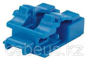 PANDUIT PSL-LCAB-BU Блокирующее устройство для дуплесных адаптеров LC, в комплект входят 10 блоков (цвет