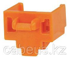 PANDUIT PSL-DCJB-OR Блокирующее устройство для разъемов RJ-45, в комплект входят 10 блоков (цвет оранжевый) и