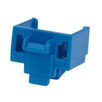 PANDUIT PSL-DCJB-BU Блокирующее устройство для разъемов RJ-45, в комплект входят 10 блоков (цвет синий) и 1