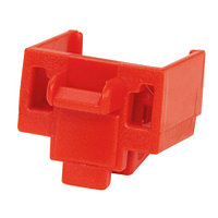 PANDUIT PSL-DCJB Блокирующее устройство для разъемов RJ-45, в комплект входят 10 блоков (красных) и 1 ключ