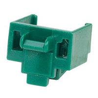 PANDUIT PSL-DCJB-GR Блокирующее устройство для разъемов RJ-45, в комплект входят 10 блоков (цвет зеленый) и 1