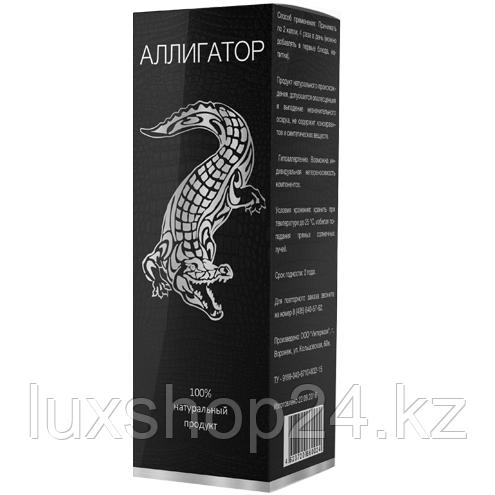 Капли Аллигатор для потенции