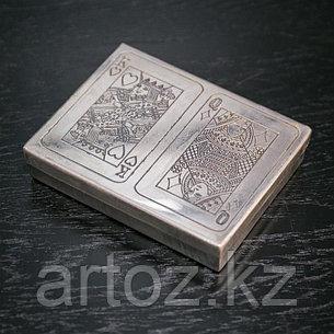 Большая металлическая коробка для игральных карт  Big Cards Metal Box, фото 2