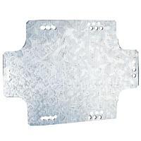 DKC / ДКС 59609 Монтажная пластина из оцинк. стали, номинально 340х255х2,0мм, для ответвительных коробок
