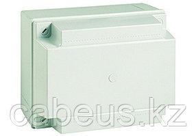 DKC / ДКС 54130 Коробка ответвительная с гладкими стенкамии и высокой крышкой, номинально 190х145х135мм, муфты