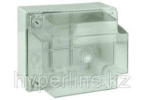 DKC / ДКС 54040 Коробка ответвительная с гладкими стенкамии и высокой прозрачной крышкой, номинально