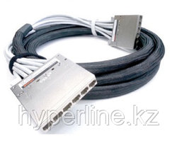 Hyperline PPTR-CT-CSS/C6AS-D-CSS/C6AS-LSZH-14M-GY Претерминированная медная кабельная сборка с кассетами на
