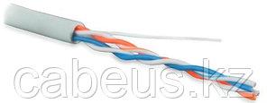 Hyperline UUTP2-C5-P24-IN-LSZH-GY-500 (500 м) Кабель витая пара, неэкранированная U/UTP, категория 5, 2 пары