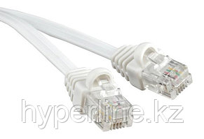 Hyperline PCM-RJ12-RJ12-5M-WH-10 Патч-корд телефонный, molded (литой), 5 м, белый (10шт.)