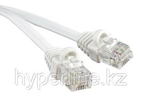 Hyperline PCM-RJ12-RJ12-10M-WH Патч-корд телефонный, molded (литой), 10 м, белый