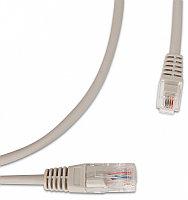 Hyperline PC-LPM-UTP-RJ45-RJ12-C2-U-1.5M-LSZH-GY Патч-корд U/UTP, переходный с RJ45 на RJ12, 1.5 м, серый