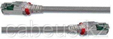 Siemon ZM6A-S02M-04B Z-MAX Патч-корд S/FTP, категория 6A, 26AWG, RJ45-RJ45, T568A/B, CM LSOH, 2 м, серый, прозрачные колпачки (из уп. 100 шт., без