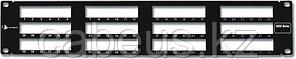 Siemon MX-PNL-72 Панель 2U в 19'' стойку на 72 модуля Max-серии, со съемным органайзером, черная