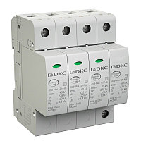 DKC / ДКС NX2012 УЗИП, класс II, 1-полюсный, L-N, 40кА (8/20), с уд. контролем