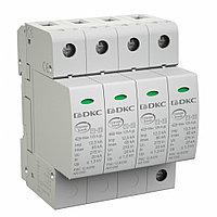 DKC / ДКС NX1222 УЗИП, класс I+II, 2-полюсный, L-N-PE, 12,5кА (10/350), с уд. контролем