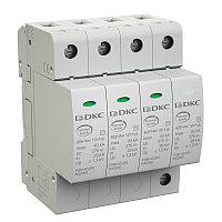 DKC / ДКС NX2042 УЗИП, класс II, 4-полюсный, L1-L2-L3-N-PE, 40кА (8/20), с уд. контролем