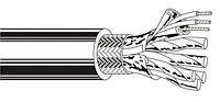 Belden 8168 0601000 Кабель для интерфейса RS-232/RS-422, 8x2x24 AWG (0,61 мм) SF/FTP, многожильный (stranded),