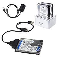 Адаптеры, переходники, докстанции и другие аксессуары для HDD,SSD,CD-R,СDRW.