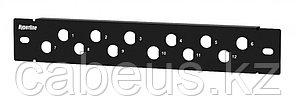 """Hyperline PPBL-BNC-10-12BNC BNC патч-панель 10"""", 12 портов, 1U, установочный размер 255 мм, без модулей"""
