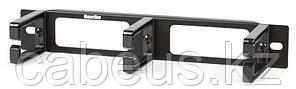 """Hyperline CM10S-1U-PL Кабельный организатор с пластиковыми кольцами, 10"""", уст. размер 236 мм, 1U"""
