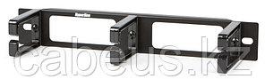 """Hyperline CM10-1U-PL Кабельный организатор с пластиковыми кольцами, 10"""", уст. размер 254 мм, 1U"""