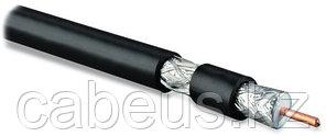 Hyperline COAX-RG11-500 (500 м) Кабель коаксиальный RG-11, 75 Ом, жила - 14 AWG, черный ПВХ (от -20°C дo
