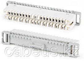 Hyperline KR-PL-10-BRK-1 Плинт размыкаемый, на 10 пар, нормальнозамкнутый, маркировка 1-0