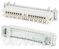 Hyperline KR-PLP-10-BRK-0 Плинт размыкаемый, на 10 пар, нормальнозамкнутый, для крепления на штанге, маркировка 0-9