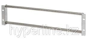 "Hyperline KR-19-FRAME-PLP-180 Рама-штанга 19"" для крепления 18 плинтов для телефонии LSA-PROFIL, 3U"