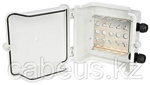 Hyperline KR-INBOX-50 (outdoor) Коробка распределительная на 50 пар, 195х195х85 мм, IP 54, -20 С - +80 С