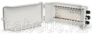 Hyperline KR-INBOX-100 (outdoor) Коробка распределительная на 100 пар, 350х190х95 мм, IP 54, -20 С - +80 С