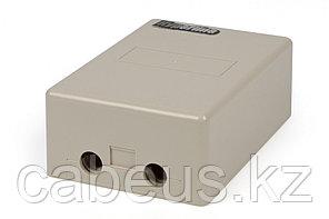 Hyperline KR-INBOX-10-S Коробка распределительная на 10 пар, 150x105x55 мм, IP 30