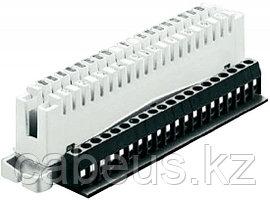 Krone 7004 2 002-01 Плинт размыкаемый LSA-PLUS, нормальнозамкнутый, на 2/10 пар, с дополнительными винтовыми