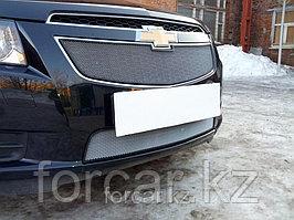 Защита радиатора Chevrolet Cruze chrome низ 2009-2013